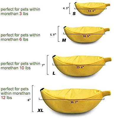 The Banana Dog Bed