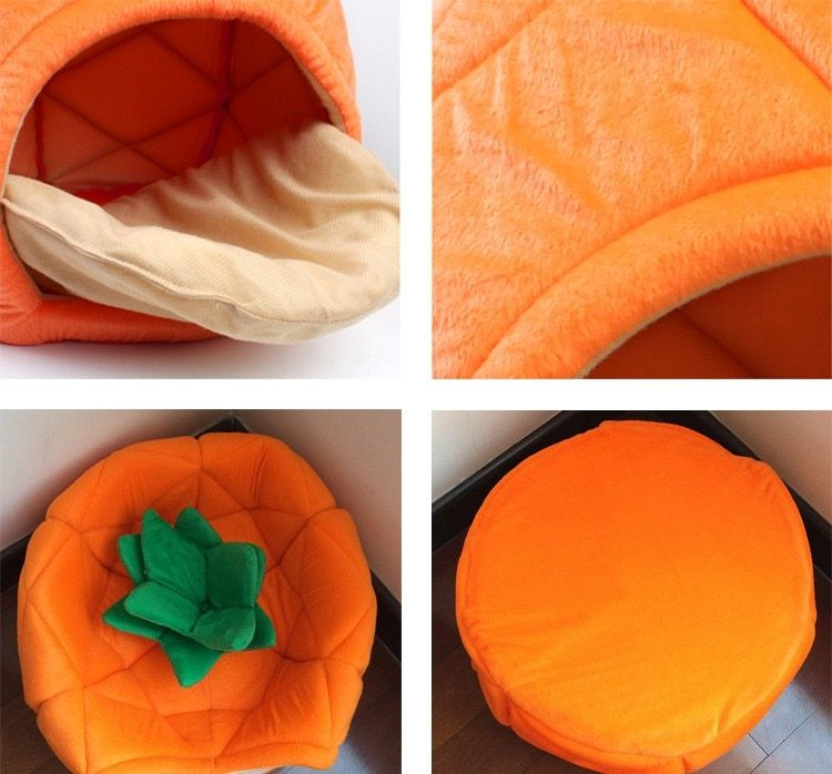 Pineapple Bed for Small Dog, Puppy, Cat