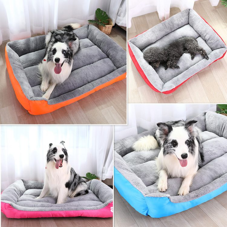 Warm Soft Dog Bed House