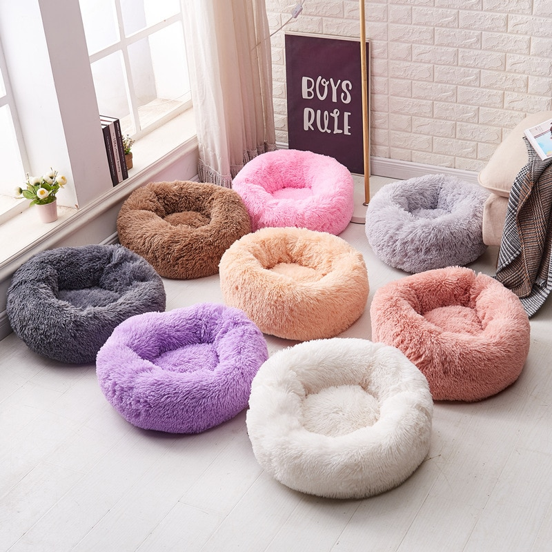 Donut Calming Pet Bed
