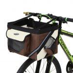 Front Bike Basket for Dog Coffee