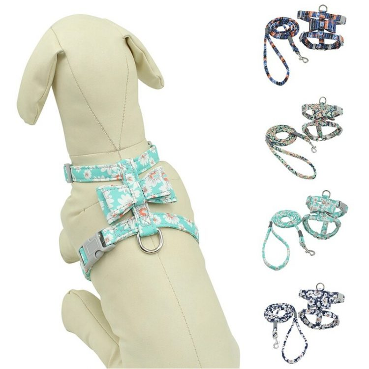Pet Dogs Walking Harness Lead Set Puppy Soft Running Leash Lead Safety Control Pet Harness For Small Medium Large Dogs Pitbull