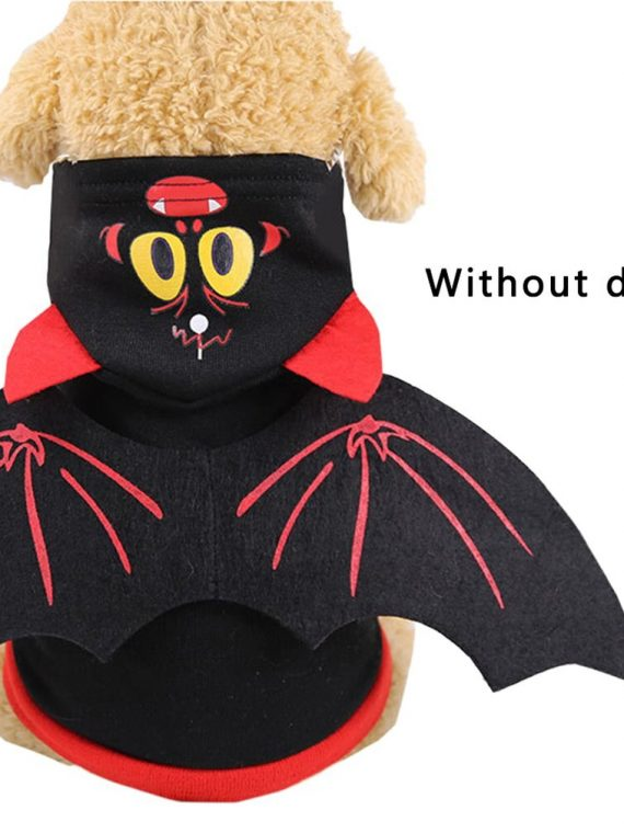 Pet-Halloween-Christmas-Chest-Back-Creative-Cat-Dog-Small-Dog-Bat-Transformation-Costume