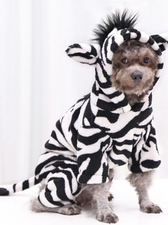 Pet-Dog-Halloween-Cosplay-Costume-Funny–Autumn-Winter-Zebra-Image-Flannel-Changing-Clothes-For-Small-Medium-Dogs/Cats-1