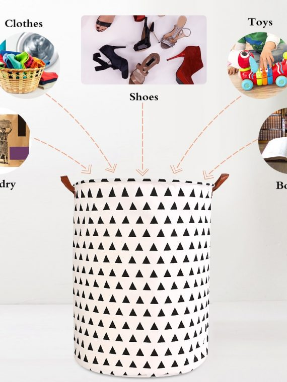1pc-Folding-Laundry-Basket-Round-Storage-Bin-Bag-Large-Hamper-Collapsible-Clothes-Toy-Basket-Bucket-Organizer-Large-Capacity