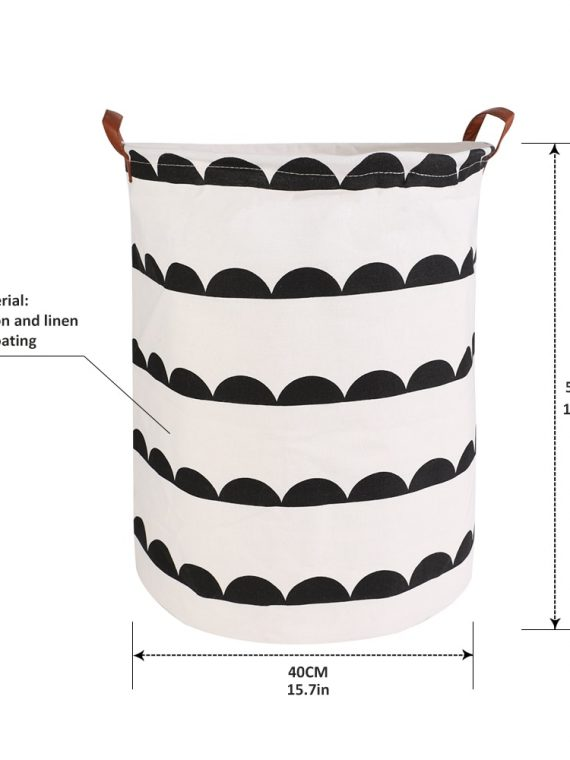 1pc-Folding-Laundry-Basket-Round-Storage-Bin-Bag-Large-Hamper-Collapsible-Clothes-Toy-Basket-Bucket-Organizer-Large-Capacity