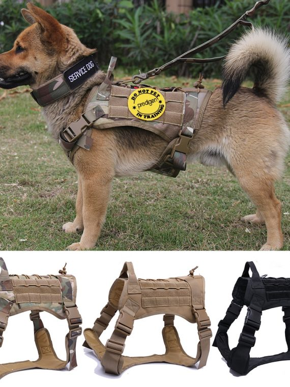 Tactical-Pet-Dog-Harness-K9-Working-Dog-Collar-Vest-With-Handle-Dog-Leash-Lead-Training-For-Medium-Large-Dogs-German-Shepherd