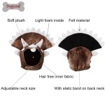 Halloween Pet Dog Headgear Triceratops Dog Dinosaur Hats Pet Cat Dog Headdresses Pet Costume Cap Headwear