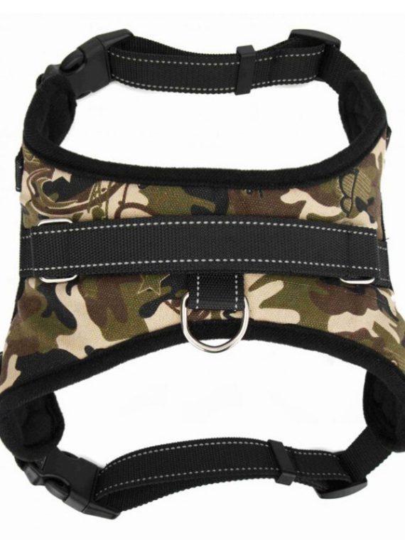 Dog Harness | Leather Dog Harness | Pug Life Harness | No Pull Dog Harness