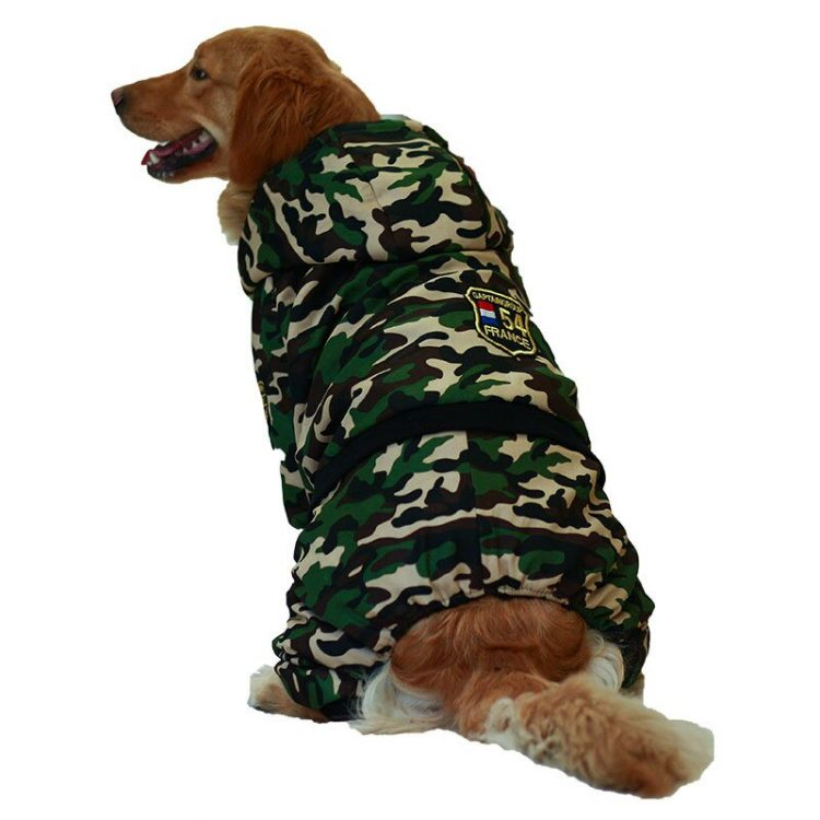 Large Dog Snowsuit | Waterproof Dog Snowsuit | Dog Winter Snowsuit