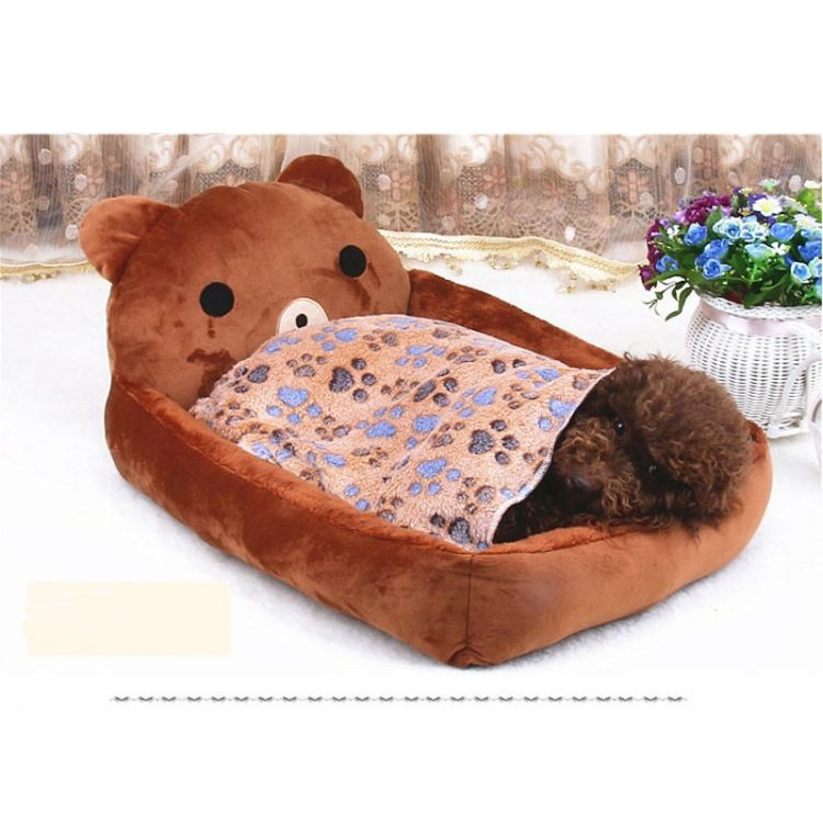 Dog bed removable and washable Teddy cartoon pet nest Pet supplies Large dog Golden Retriever dog bed mat mat pet accessories