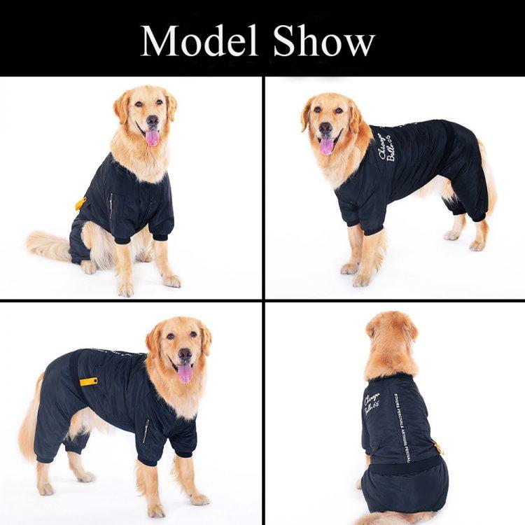 Large Dog Jumpsuit | Dog Winter Jumpsuit | Large Dog Snowsuit
