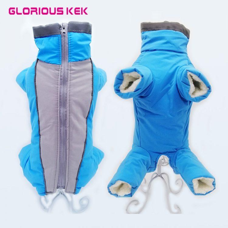 Waterproof Dog Snowsuit | Small Dog Snowsuit | Puppy Snowsuit | Dog Winter Snowsuit