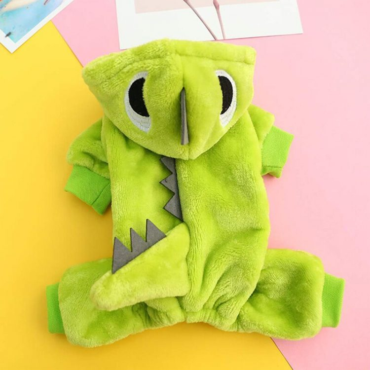 Halloween Pet Dog Clothes Small Poppy Hooded Jacket Jumper Clothes Party Jumpsuit Costume Dress Pet Clothes