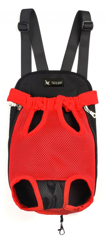 Pawaboo Dog Carrier Backpack Red Color