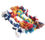 MEGA Rope Knot Dog Toy - From Natural Cotton