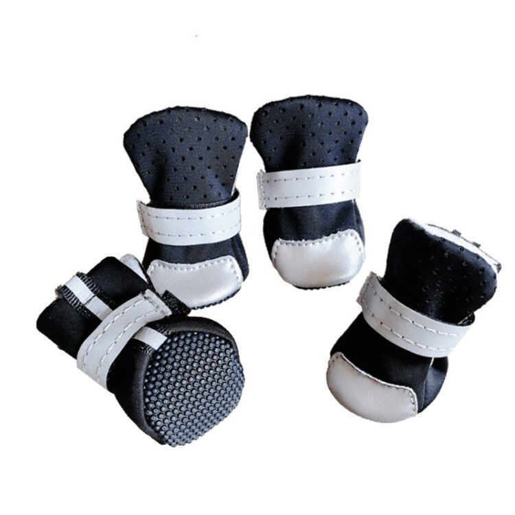 Waterproof Dog Boots | Small Dog Snow Boots | Reflective Dog Boots