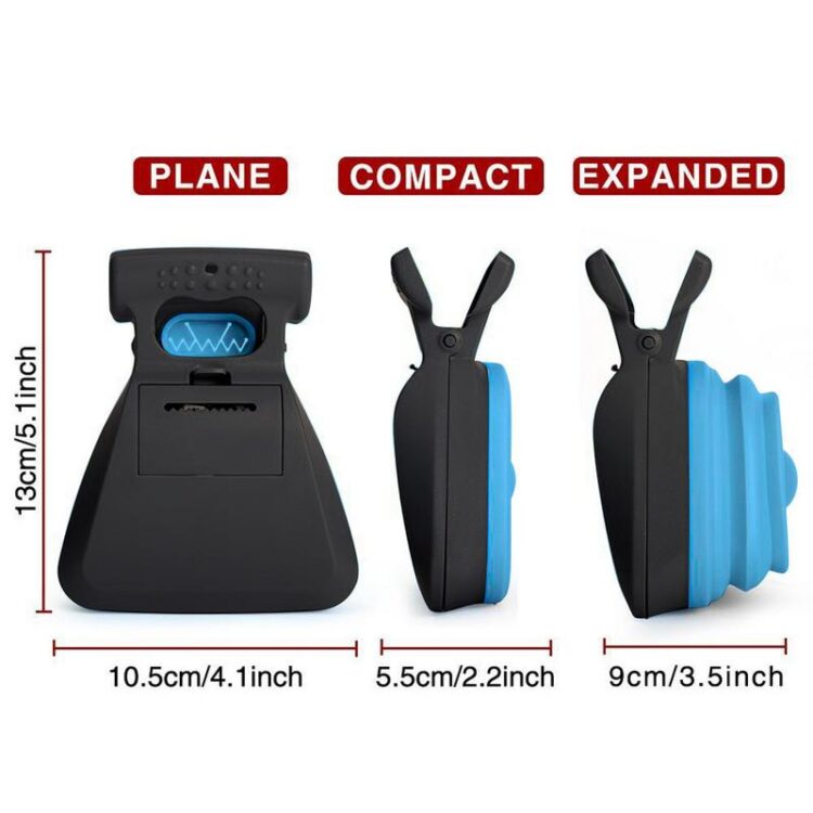 1PC Dog Pet Travel Foldable Pooper Scooper Poop Scoop Easy Clean Pick Up Excreta Cleaner Green/Blue/Yellow/Red DropShipping