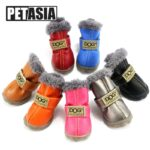 DogMEGA Winter Dog Boots | Small Dog Winter Boots | Best Dog Boots for Snow