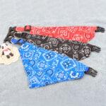 Dog Scarf Adjustable | Cute Dog Bandanas | Dog Neckerchief