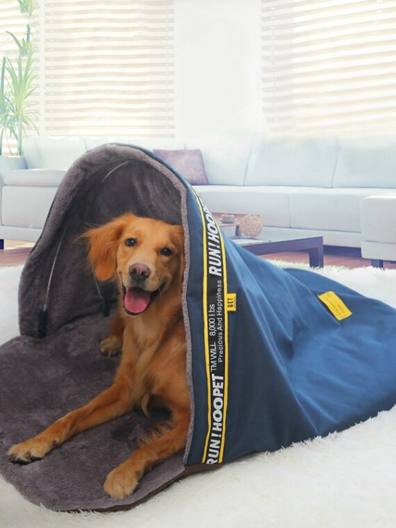DogMEGA-Dog-Cave-Bed-|-Snoozer-Cozy-Cave