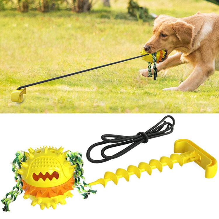 DogMEGA Tug Toys for Dogs Outdoor