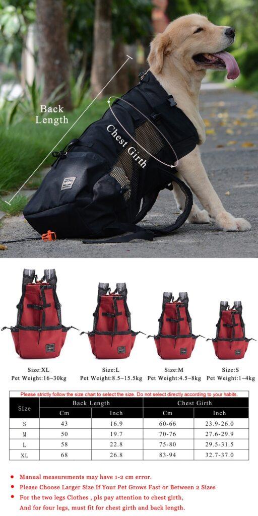 DogMEGA Dog Rucksack