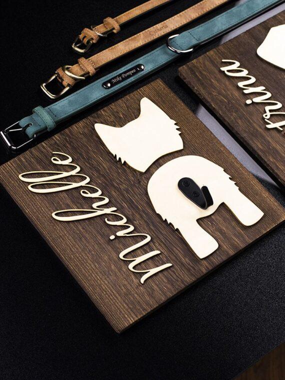DogMEGA Personalized Dog Leash Holder