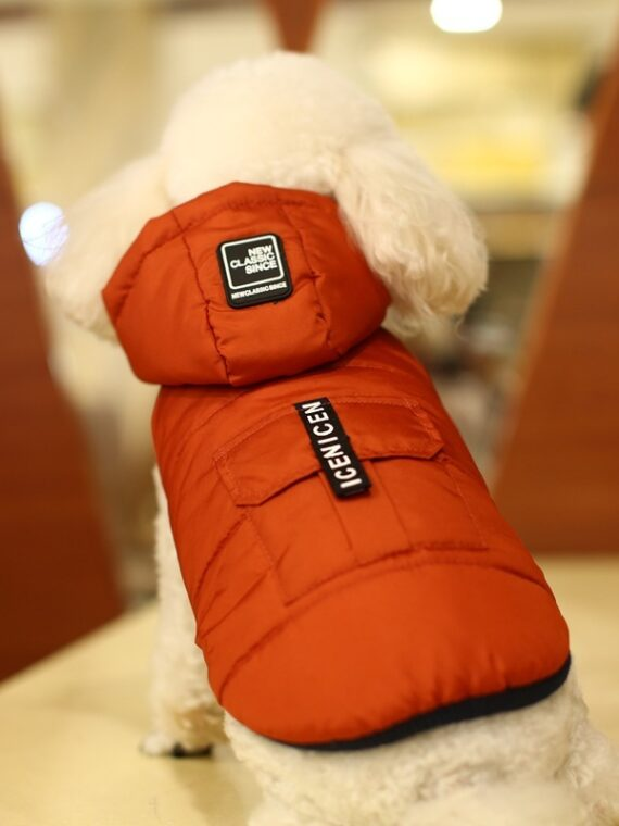 DogMEGA Hoodies Coat   Thickening Hoodies Coat for Small Dog