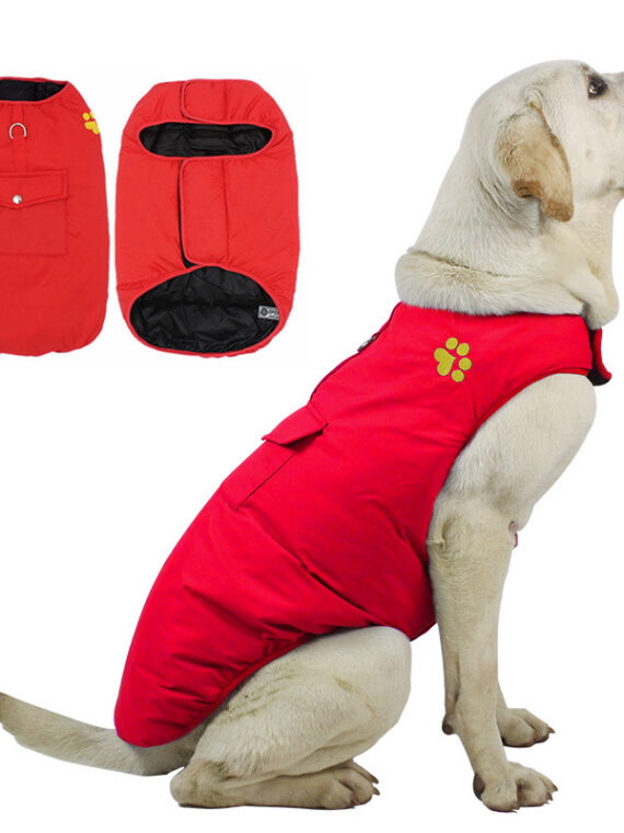 DogMEGA Windproof and waterproof clothes for Small, Medium and Large Dog
