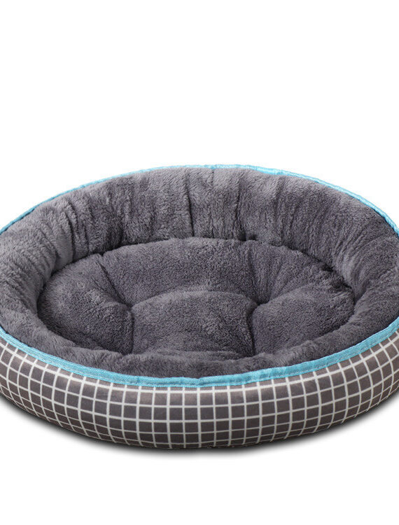 DogMEGA Washable Round Bed for Small and Medium Dog