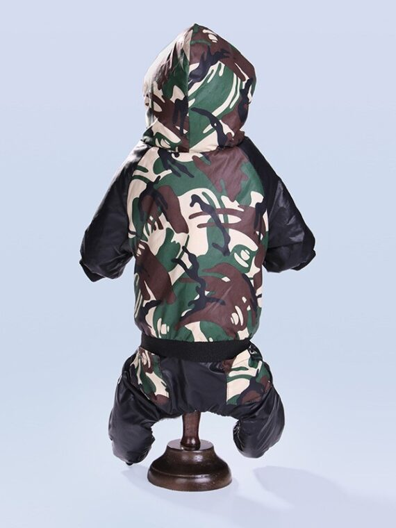 Hooded Coveralls Coats for Dog