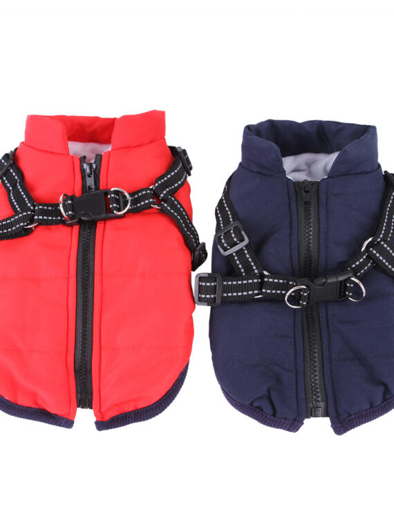 DogMEGA Waistcoat Chest Strap Plus with Harness