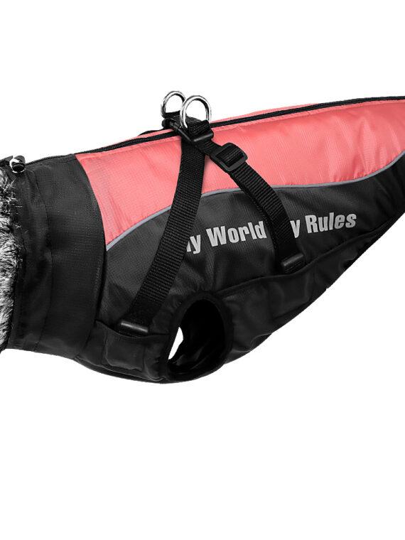 Dog Jacket with Harness   Waterproof Jacket for Large Dog   Big Windproof Coats