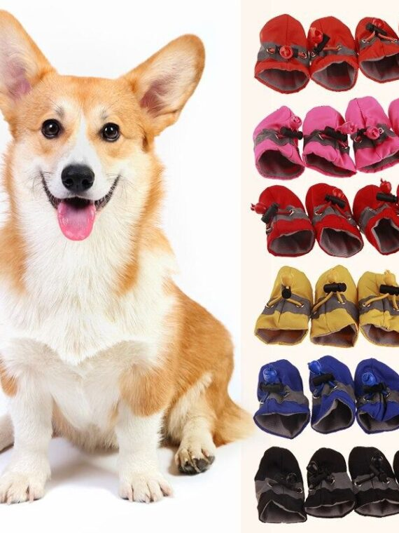 DogMEGA Waterproof Anti-Slip Dog Boots for Outdoor (6)_compressed