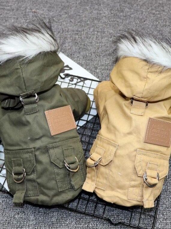 Faux Fur Dog Jacket (5)_compressed