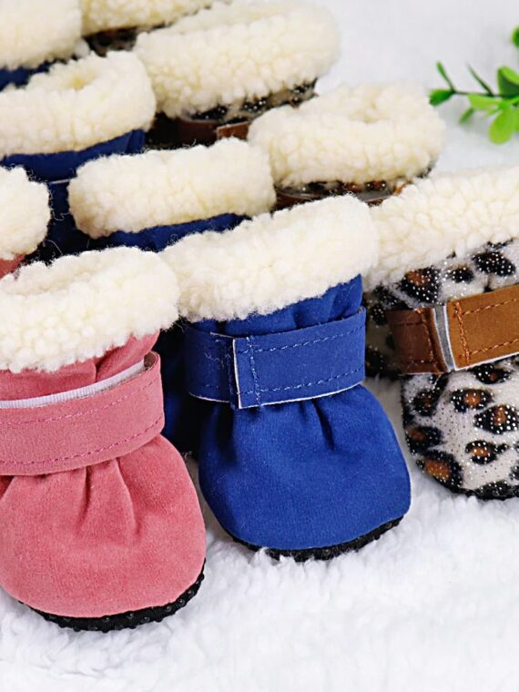 Snow Boots for Small Dog (4)_compressed