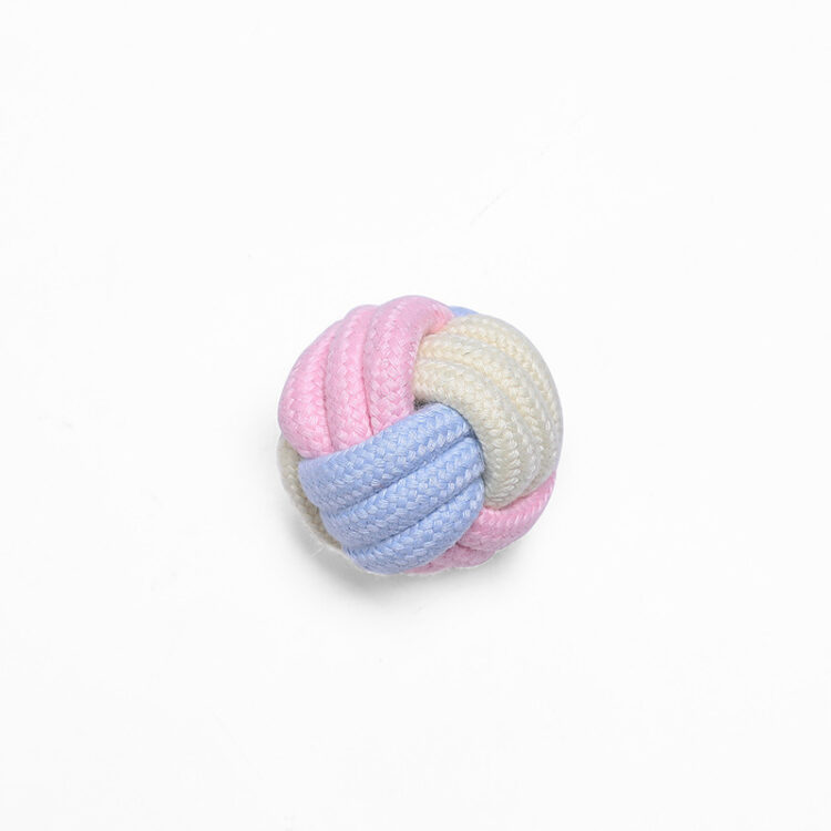 Dog Interactive Bite Resistant Rope Ball