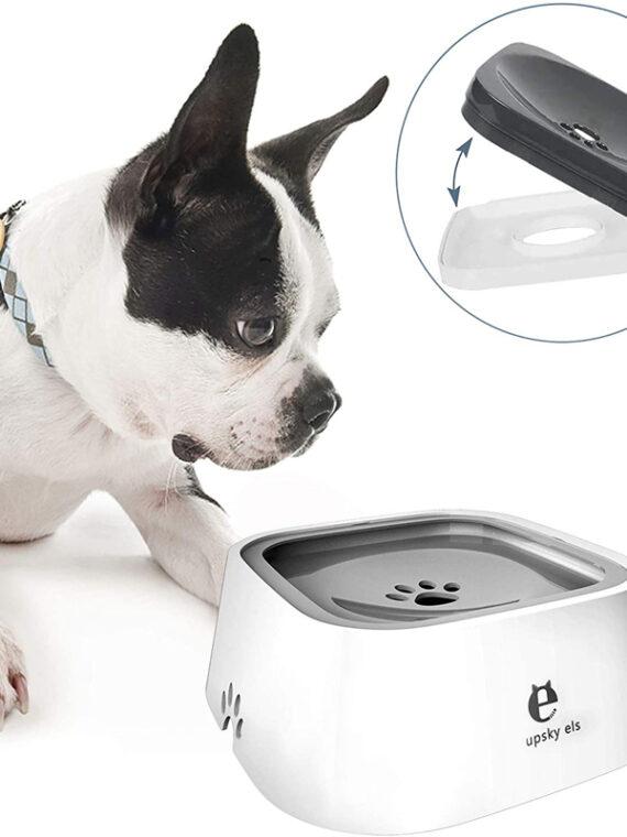 Dog Water Bowl Machine | Slow Water Feeder Dispenser Anti-Overflow