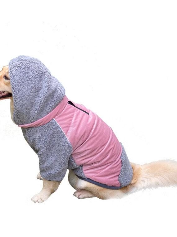 DogMEGA Detachable Dog Warm Clothes | Double-sided Warm Jacket for Dog