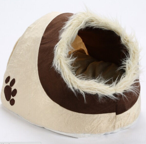 Leopard Dog Nest for Small Dog