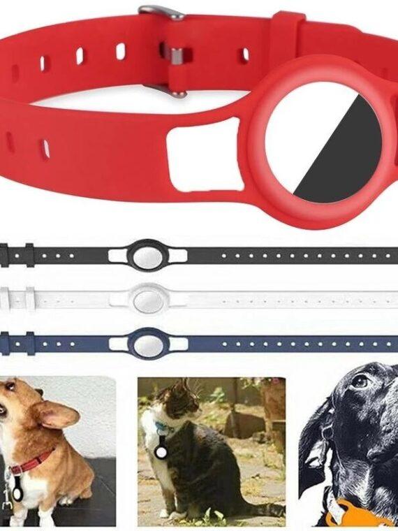DogMEGA Adjustable Dog Collar Suitable for Apple Airtag