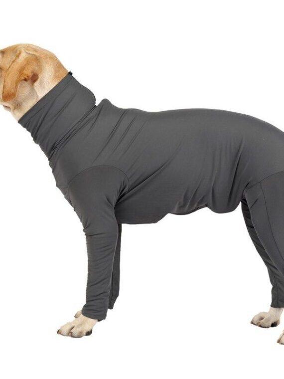 Medium Large Dogs Pajamas Long-sleeve 4-leg Jumpsuit for Dog (1)_compressed