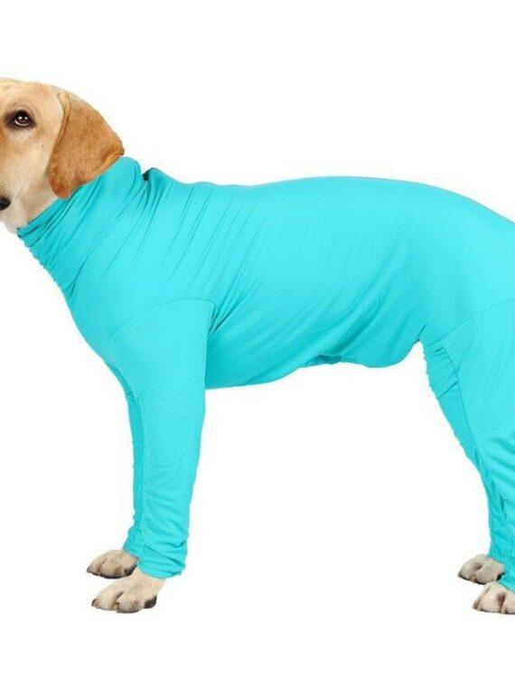 Medium Large Dogs Pajamas Long-sleeve 4-leg Jumpsuit for Dog